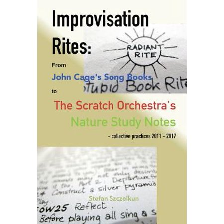 Halloween Songs List 2017 (Improvisation Rites : From John Cage's 'song Books' to the Scratch Orchestra's 'nature Study Notes'. Collective Practices 2011 -)