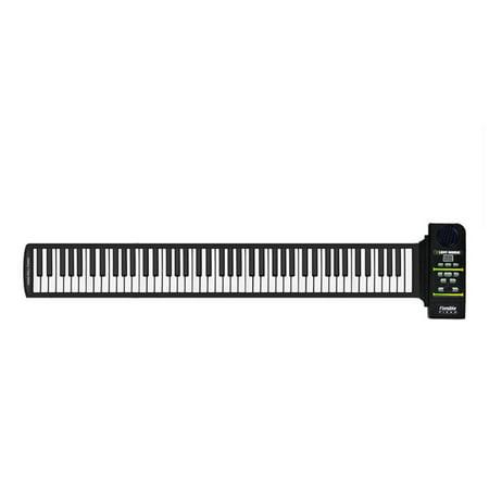 Roll Up Piano Folding Portable Keyboard | 88Keys | Music Gifts for Women Men Girl Boys Kids | Educational Toys Gift Set | Digital Beginner Piano - image 7 of 9