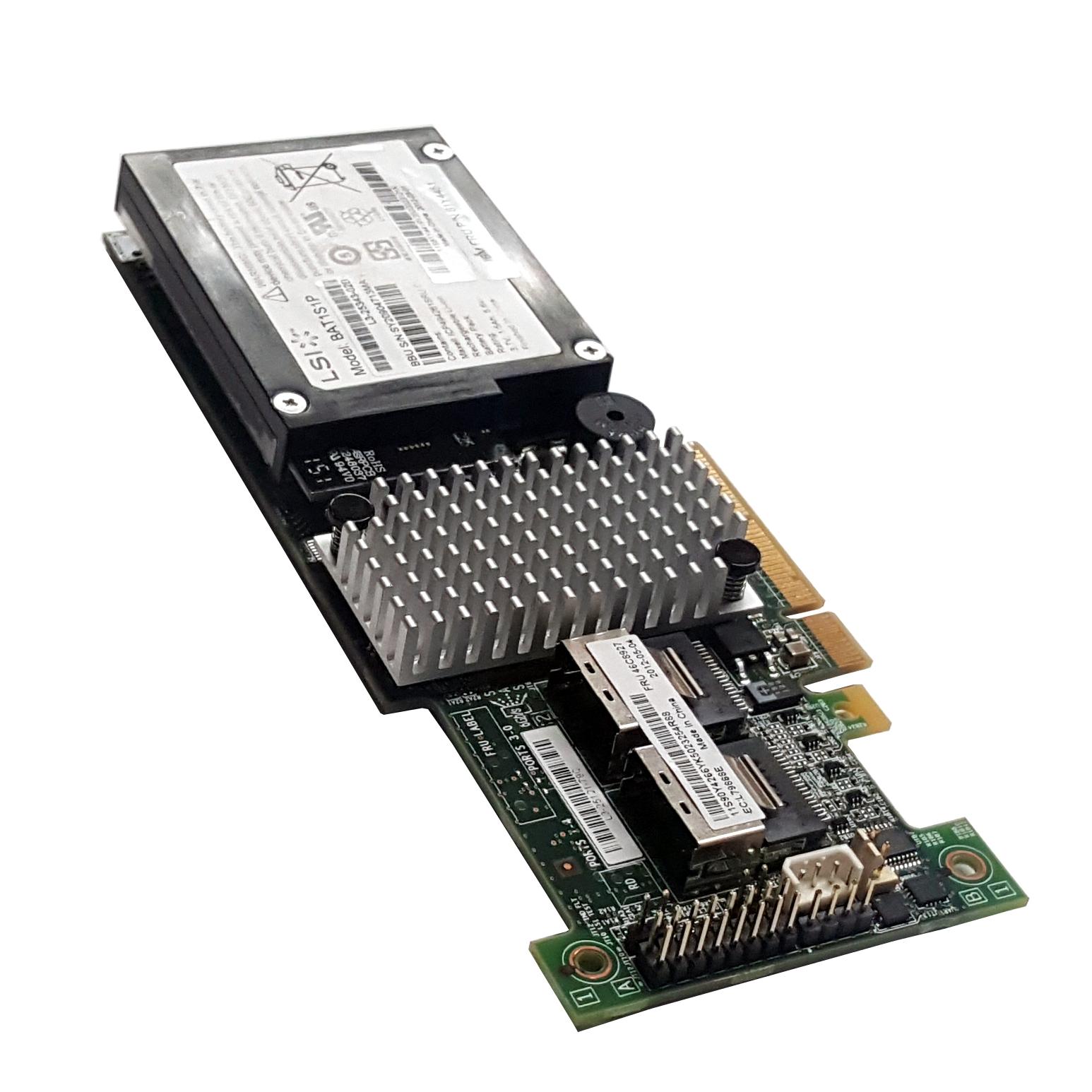 IBM 46C8927 LSI ServeRAID SAS SATA PCIe RAID Controller w/Battery Refurbished