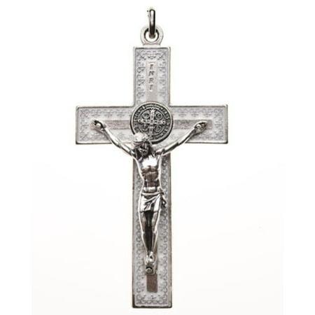 Unique St St. Benedict Crucifix Necklace 3
