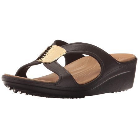 3a82b20fa7cf Crocs Women s Sanrah Embellished Wedge Sandal - image 2 ...