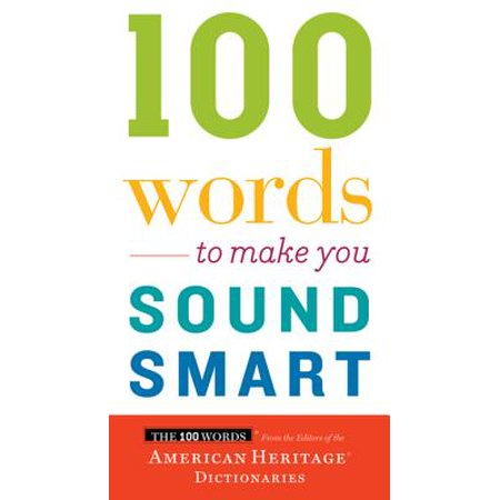 100 Words To Make You Sound Smart - eBook (Make A Word With The Letters Listed)