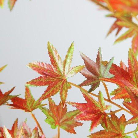 5.5? ¦+ Harvest Fall artificielle en pot orange Japanese Dream Maple Tree - image 1 de 2