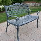 Mississippi Patio Rocking Chair Antique Bronze Walmart Com