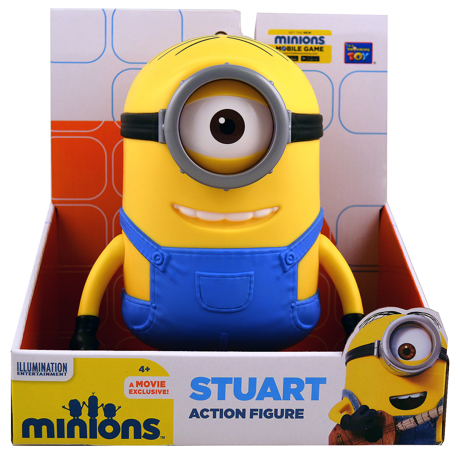Thinkway Toys Minions -Stuart Figure by Thinkway Toys