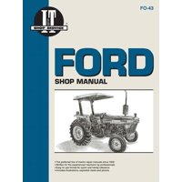 I & T Shop Service Manuals: Ford Shop Manual Models 2810, 2910, 3910: Manual F0-43 (I & T Shop Service) (Paperback)