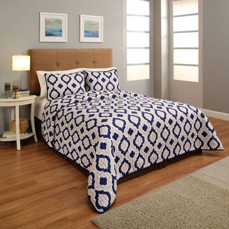 3 piece bedspread set size california king