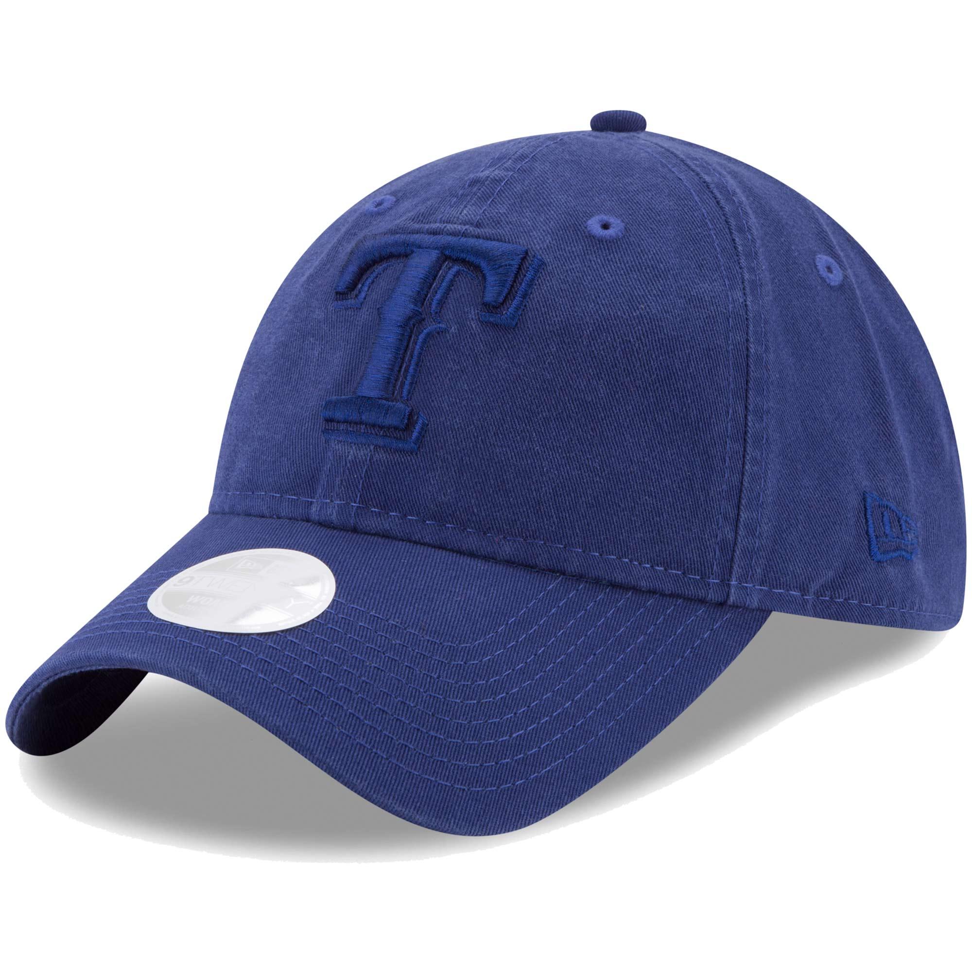 Texas Rangers New Era Women's Preferred Pick Tonal 9TWENTY Adjustable Hat - Royal - OSFA
