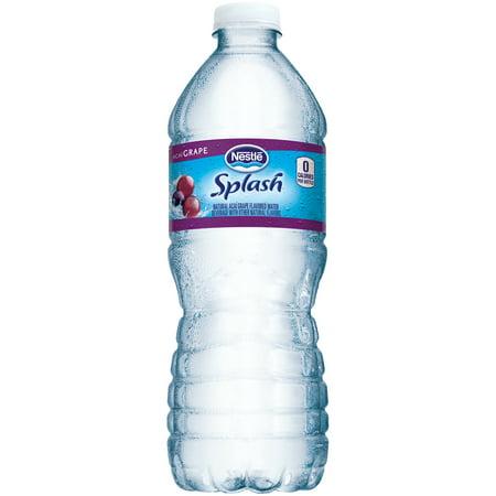 Nestle Splash Water Beverages With Natural Fruit Flavors