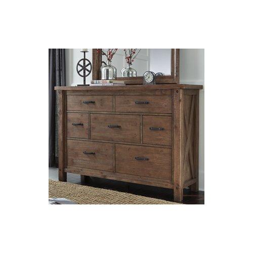 Loon Peak Saranac 7 Drawer Dresser