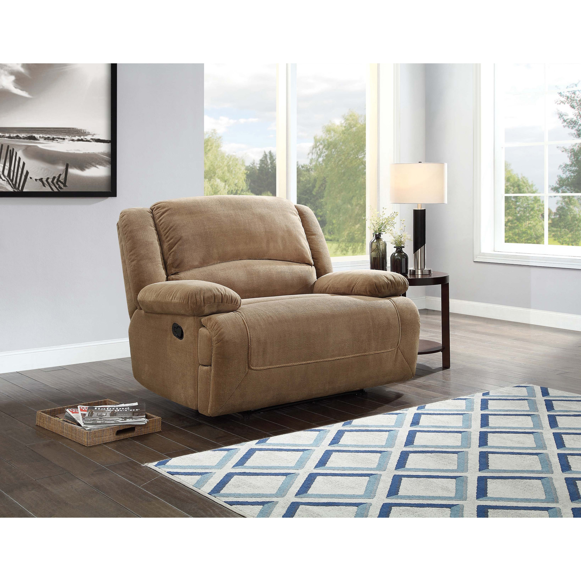 Better Homes and Gardens Cuddler Recliner Multiple Colors  sc 1 st  Walmart & Oversized Recliners islam-shia.org