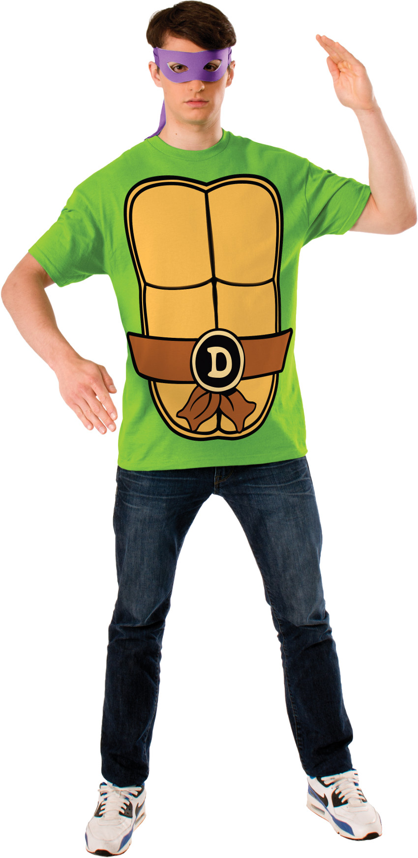 Teenage Mutant Ninja Turtles Donatello Mens T Shirt Mask Costume    Walmart.com
