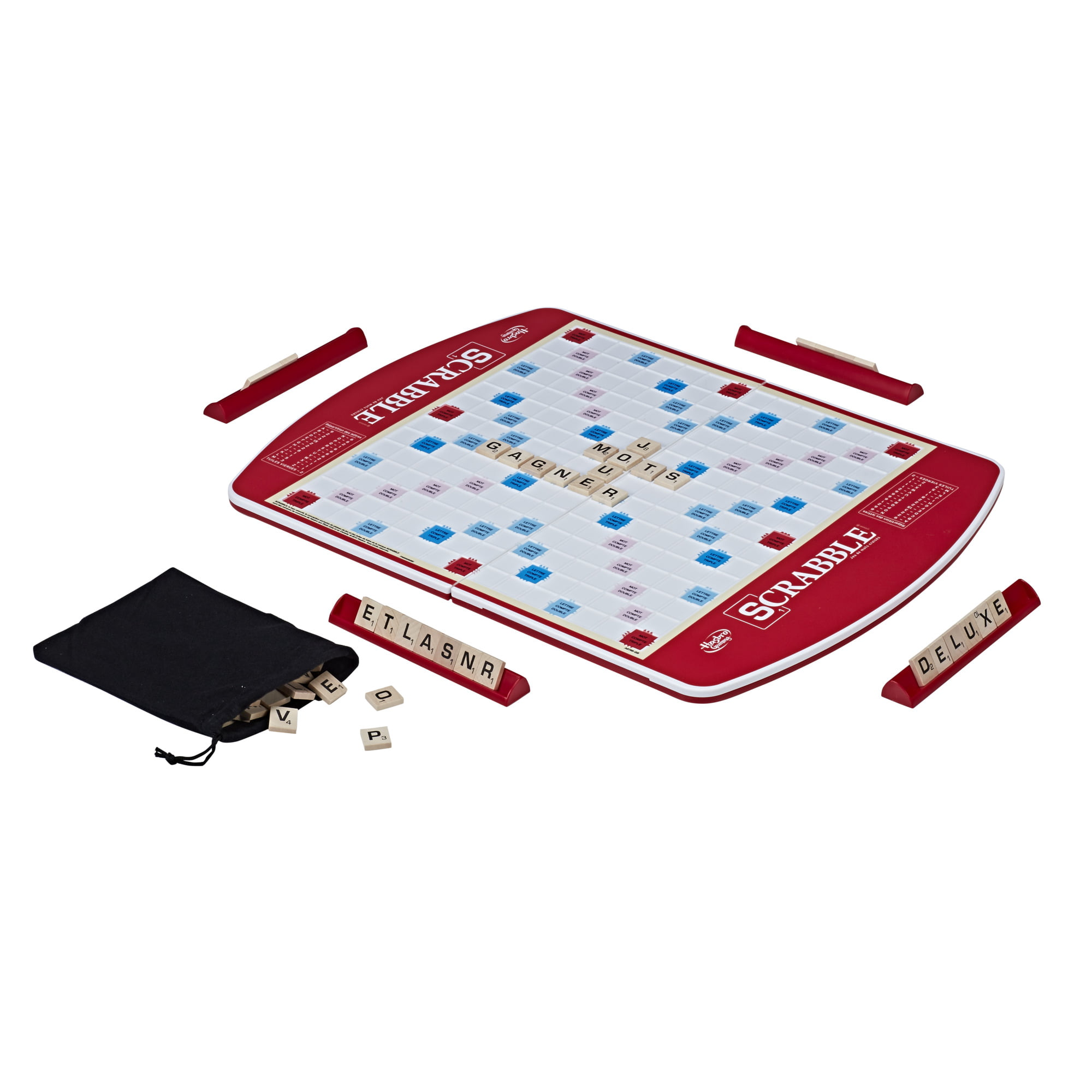 Scrabble Deluxe Edition Game For Kids Ages 8 And Up Walmart Com Walmart Com