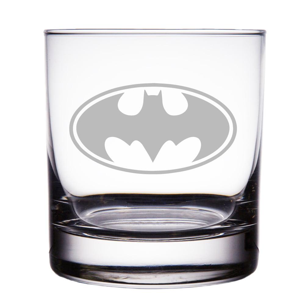 Batman Engraved 10 oz Rock Glass