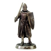 """Medieval Knight 7"""" Statue 9038"""
