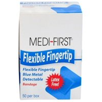 """Adhesive Bandages Flexible Fingertip 1"""" x 3"""" Latex Free 200 pieces MS-29235"""