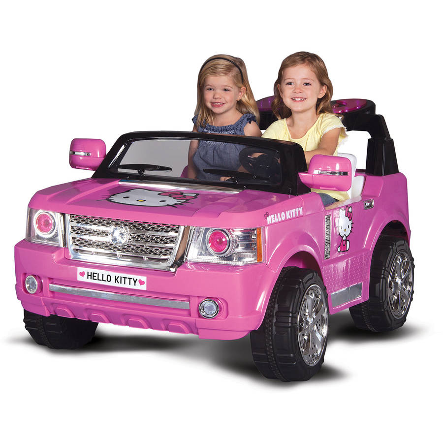 Hello Kitty SUV 12-Volt Battery-Powered Ride-On
