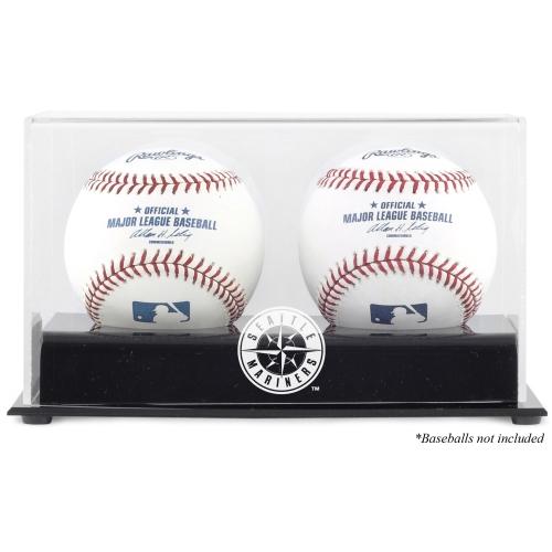 Seattle Mariners Fanatics Authentic Two Baseball Cube Logo Display Case - No Size