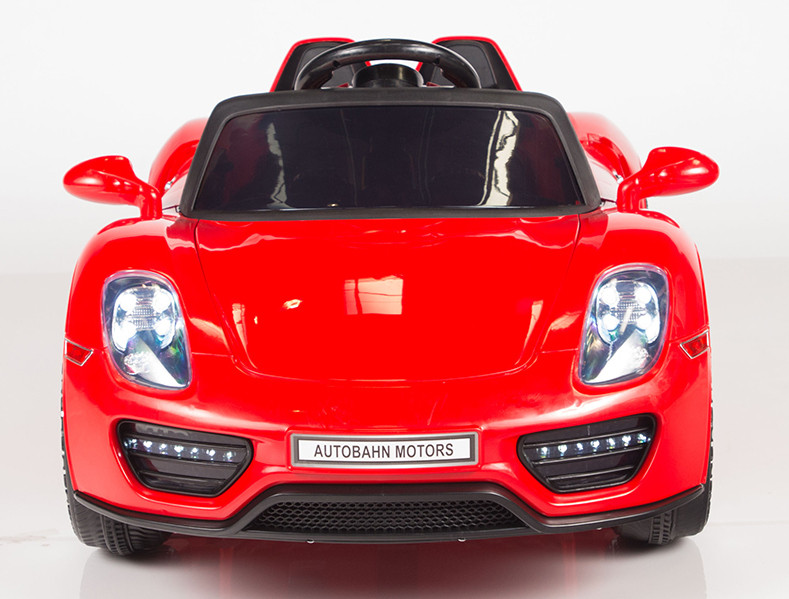 12v New Limited Porsche Spyder Style Ride On Toy Car For Kids, Boys, And