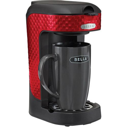 Bella Red Single Serve Coffee Maker Walmartcom
