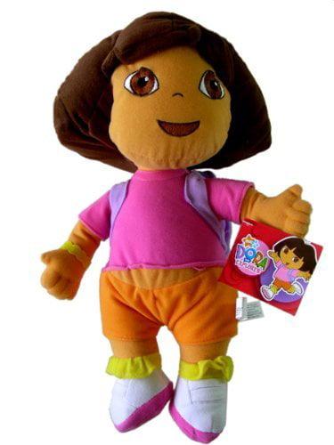 """Nick Jr. Large Plush Doll 13"""" Dora Plush, DORA 13 PLUSH By Dora the Explorer by"""