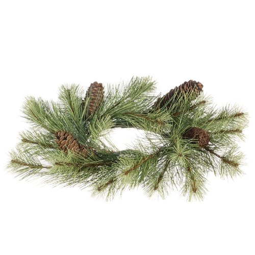 The Holiday Aisle 14'' Black Hills Pine Wreath (Set of 2)
