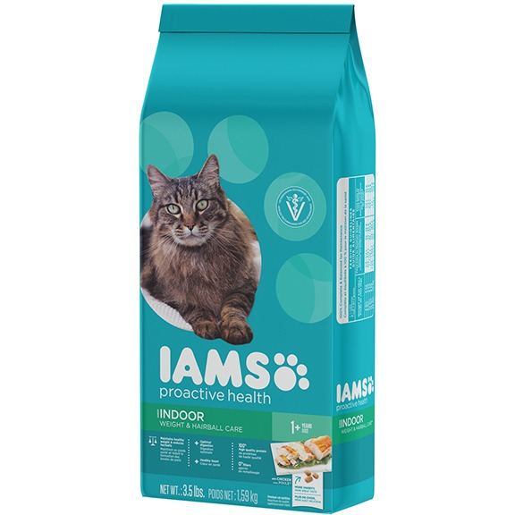 IAMS ProActive Health Adult Indoor Weight & Hairball Care