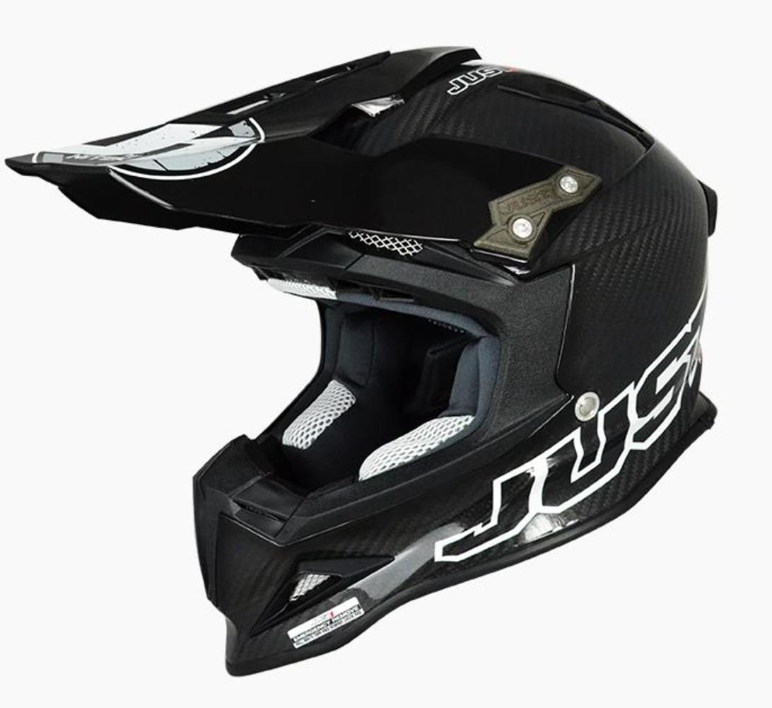 Just 1 J12 Solid Carbon Helmet