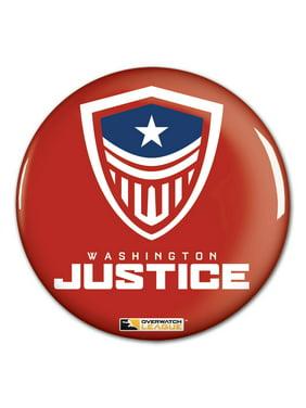"Washington Justice WinCraft Team Logo 3"" Button Pin"