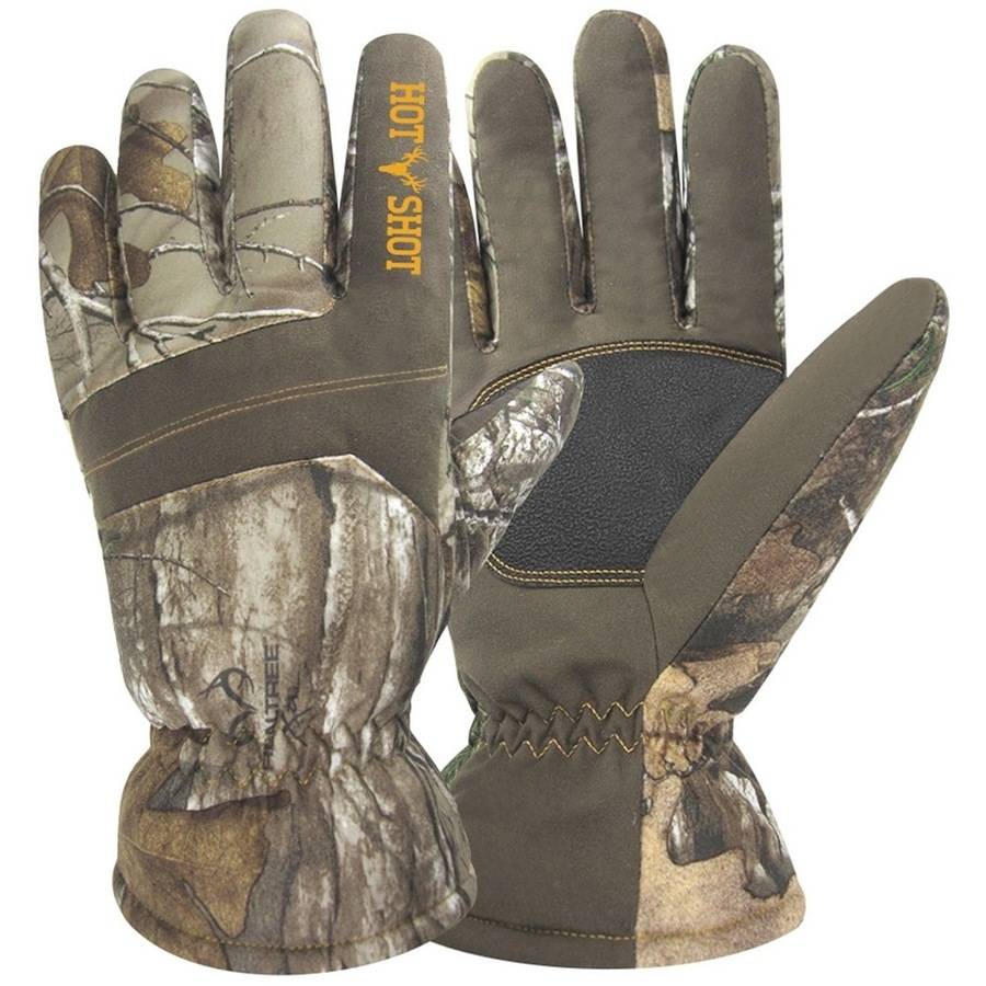 JacobAsh Junior Defender Glove, Realtree Xtra thumbnail