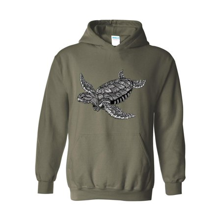 Sea Gull Sweatshirt (Hawaiian Sea Turtle Unisex Hoodie Hooded Sweatshirt)