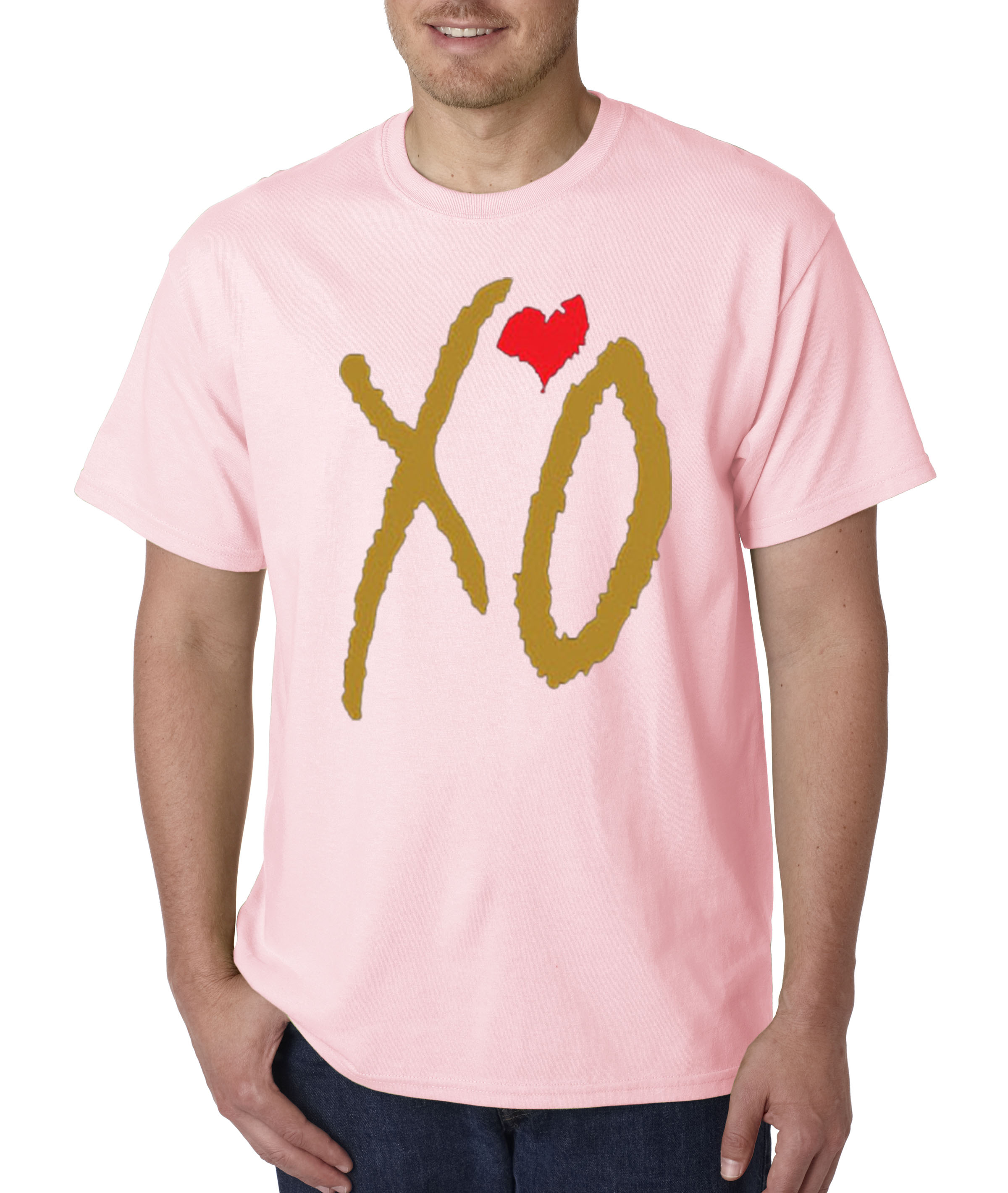 188 - Unisex T-Shirt Xo The Weeknd [Gold Letters]