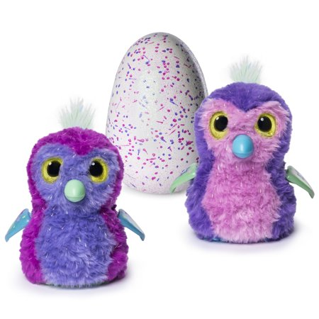 Hatchimals Glittering Garden   Hatching Egg   Interactive Creature   Sparkly Penguala By Spin Master