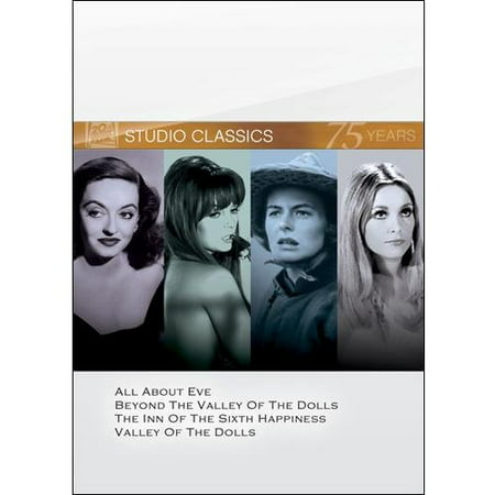 20th Century Fox Studio Classics: Volume 9 - All About Eve / Beyond The Valley Of The Dolls / The Inn Of The Sixth Happiness / Valley Of The Dolls 20th Century Type Coins
