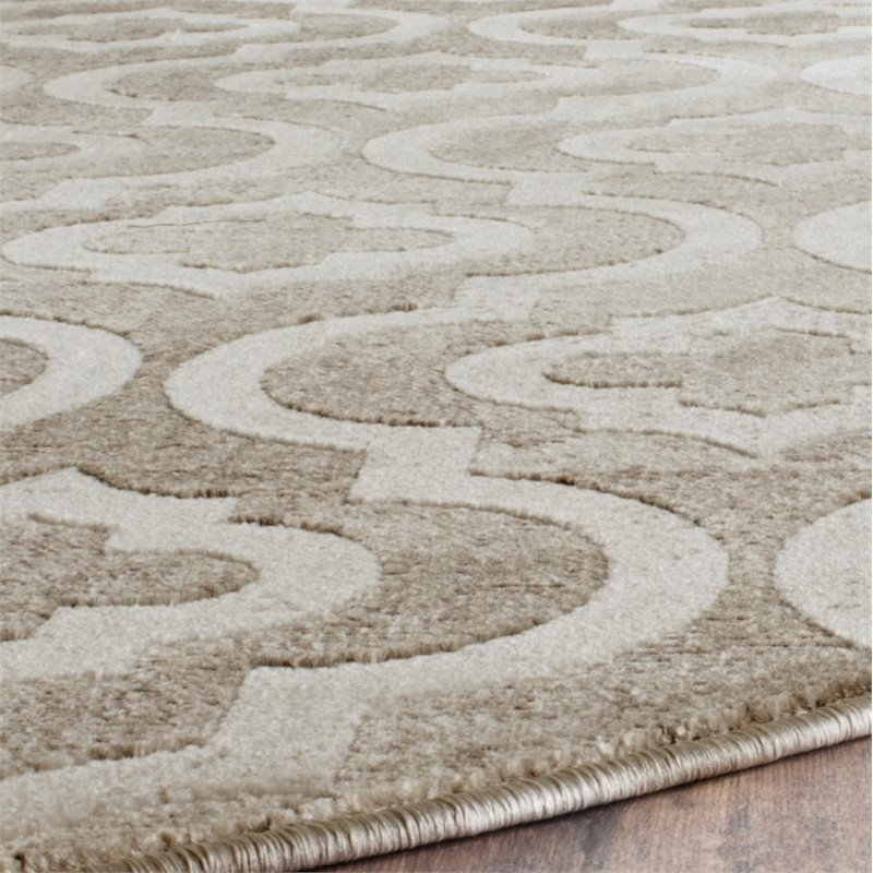 Safavieh Porcello 2 4 Quot X 6 7 Quot Power Loomed Rug In Gray And