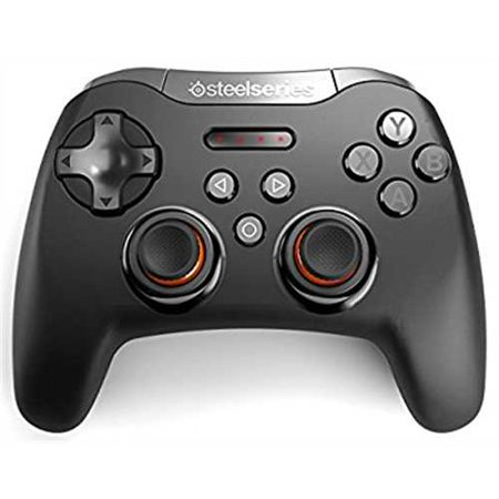 Refurbished SteelSeries Stratus XL, Bluetooth Wireless Gaming Controller for Windows + Android, Samsung Gear VR, HTC Vive, and Oculus