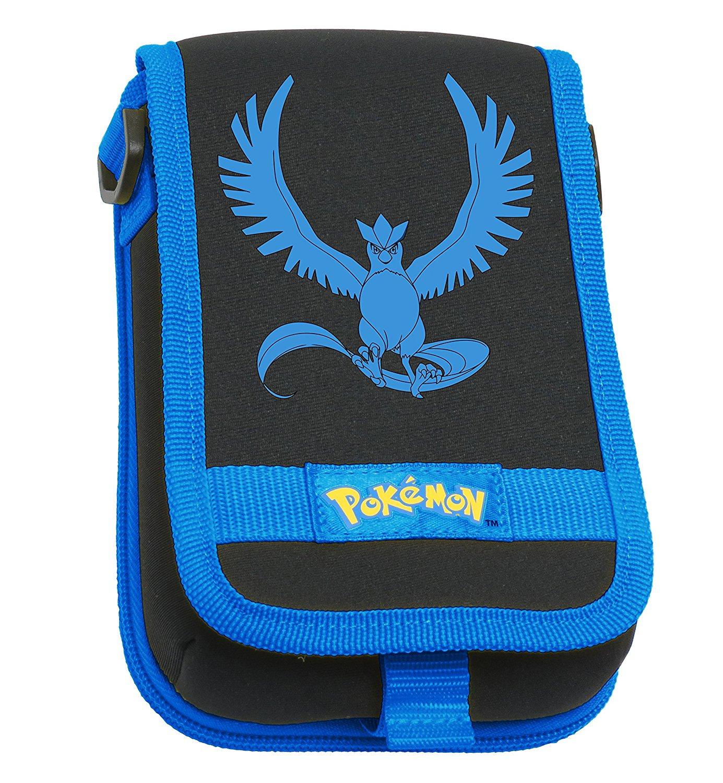 Hori New Nintendo 3DS XL Pokemon Articuno Travel Pouch Case - Blue