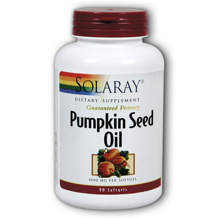 (Solaray Pumpkin Seed Oil 1000 mg Capsules, 90 Ct)