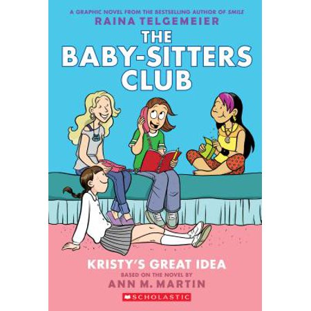 Kristy's Great Idea: Full-Color Edition (the Baby-Sitters Club Graphix #1) (Revised, Full Color) (Paperback)](Santacon Ideas)