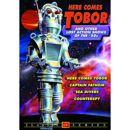 Here Comes Tobor and Other Lost Action Shows of the 1950s (DVD)