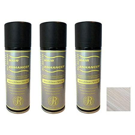 My Secret Hair Enhancer Ultra Silver/White (3 Pack) - image 1 de 1