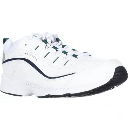 Womens Easy Spirit Romy Comfort Walking Sneakers, White Multi ()