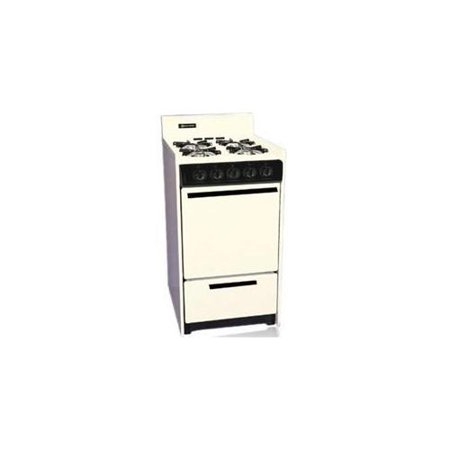 Bisque Electric Range (Brown - SNM110-7C - 20 Inch - Gas Range - Electric Ignition - Bisque)