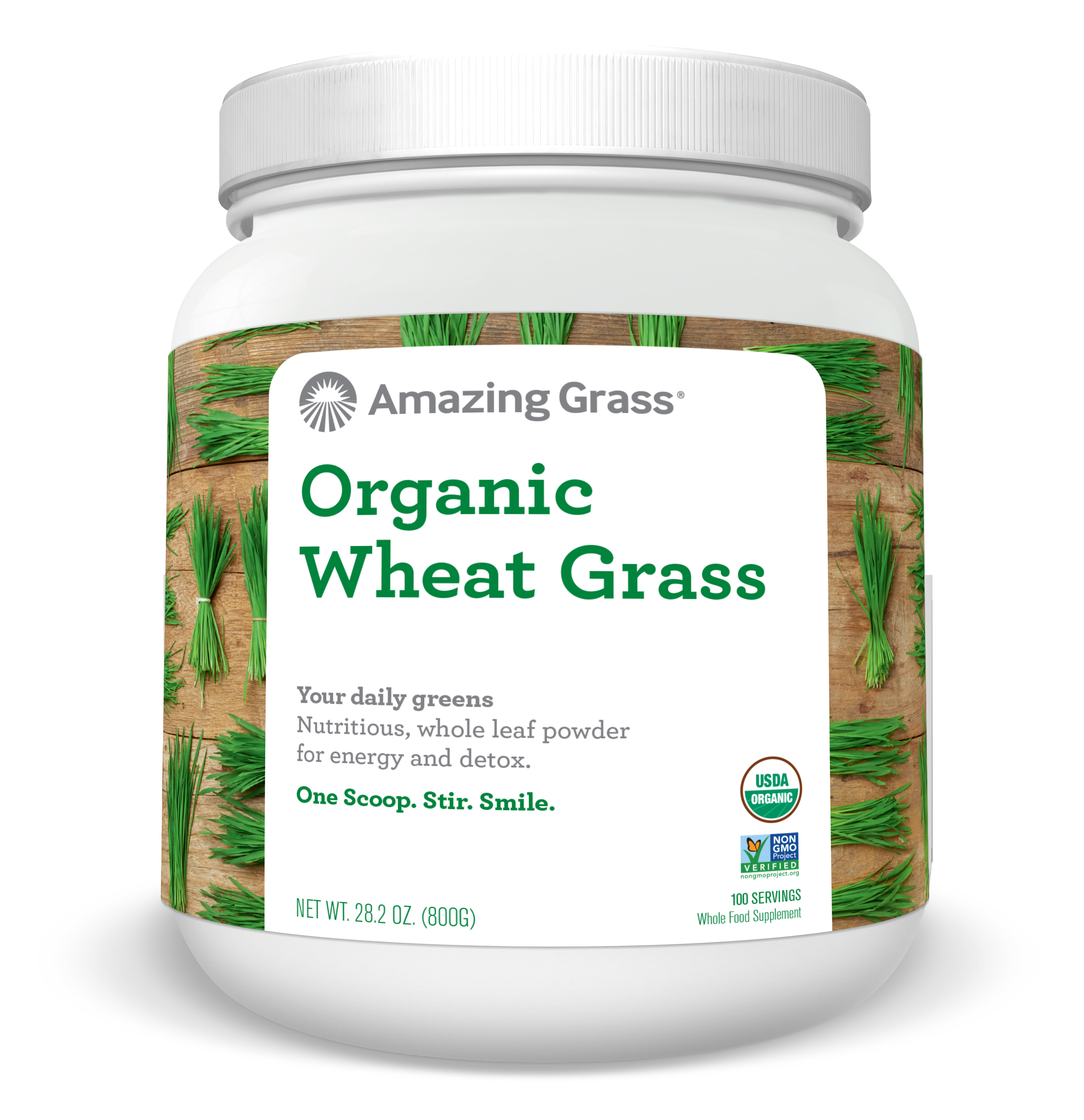 Amazing Grass Organic Wheatgrass Powder, 1.8 Lb