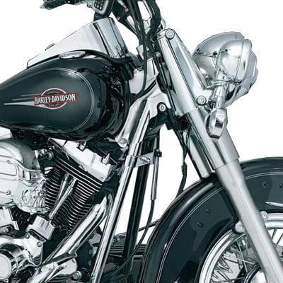 Kuryakyn Down Tube Covers Fits 92 99 Harley Davidson Softail FXST