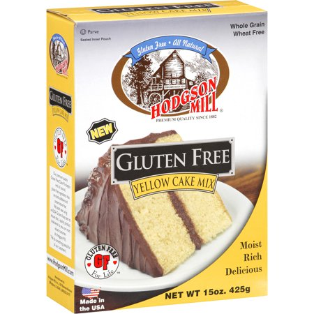 Hodgson Mill Gluten Free Yellow Cake Mix, 15 oz - Walmart.com