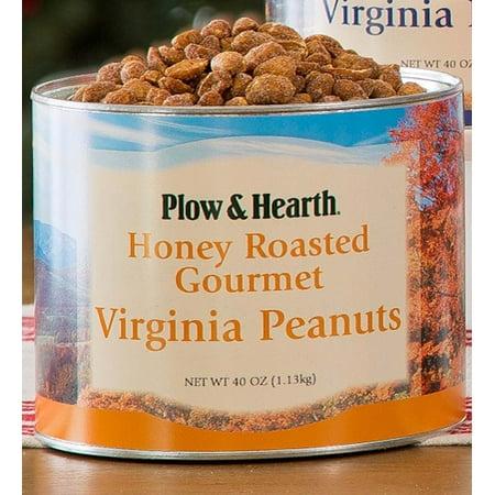Flavored Extra Large Virginia Peanuts, 40 oz. Tin, Honey Roasted ()