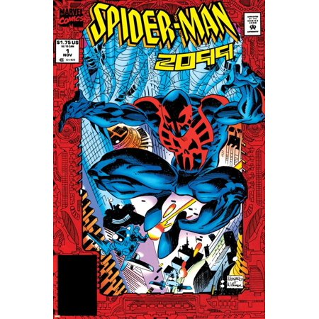 Spider-Man 2099 No.1 Cover: Spider-Man 2099 Print Wall Art By Rick
