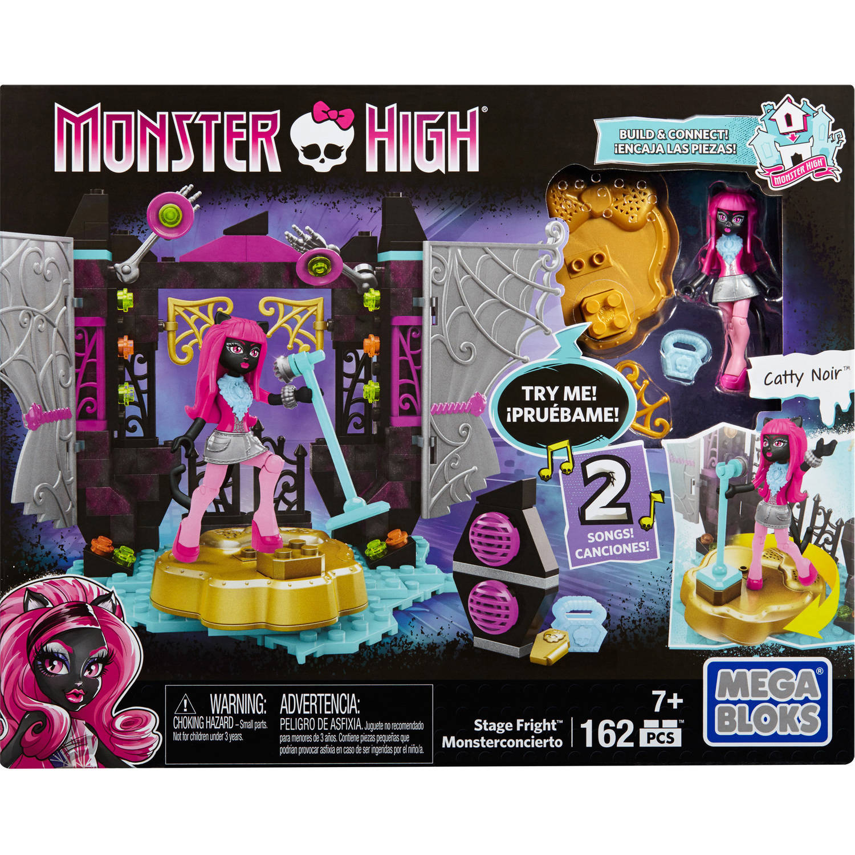 Mega Bloks Monster High Stage Fright Playset