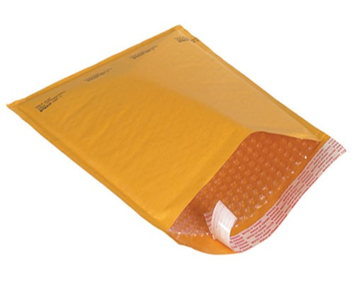 """100 Kraft Bubble Mailers 8.5x14"""" #3 Self-Sealing Padded Envelopes Bags by Uboxes"""